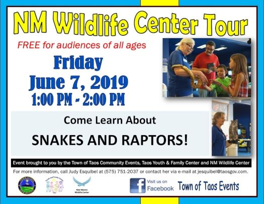 NM Wildlife Center Tour 6-7-19 website