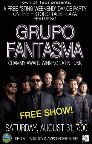 Free Concert Grupo Fantasma 8-31-19 website