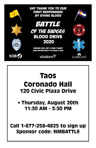 Taos Blood Drive Flyer 2020 for website