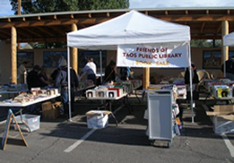 Outdoor Book Sale